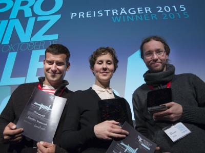 v.ln.r.: Karsten Kranzusch, Lena Hatebur, Jan Klonowski